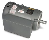 10 Hp Motor,  Frame: 215TC (Single-Phase)  Cat: CL3712T