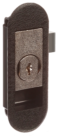 11-1895-01 (LPLOCK01A)  - Panel front lock, with 2 keys.