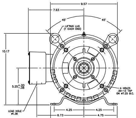 Marathon Motors Wiring Diagrams