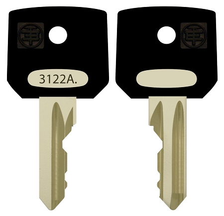 Schneider Electric  #  3122A  replacement keys