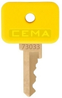 GE   (CEMA)  #  73033    replacement keys