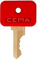 GE  (CEMA)  #  73037      replacement keys