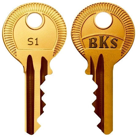 Siemens   (BKS)   #  S1  replacement keys