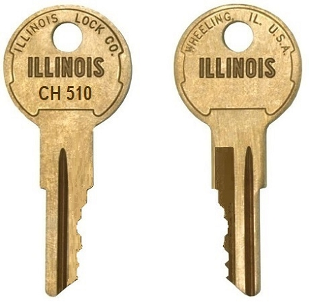 CH510 replacement keys