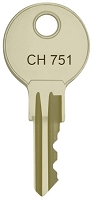 Emka  CH751 replacement keys