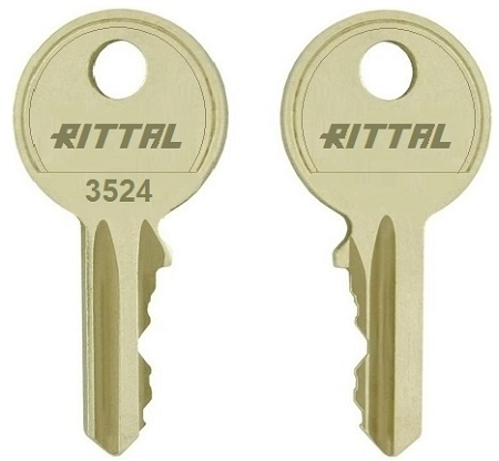 Rittal 3524 replacement keys