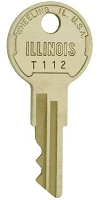Honeywell  # T112   replacement  keys