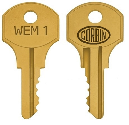 Eaton / Westinghouse / Cutler-Hammer  WEM1 replacement keys